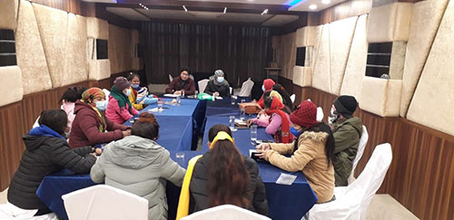AF Conducted Refresher Meeting with Family Members of ED Victims