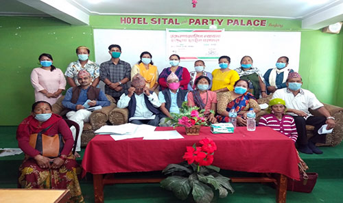 Advocacy Forum- Nepal organized Meeting on the Transitional Justice in Baglung