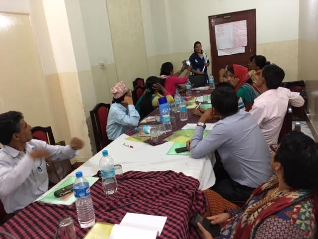 AF Organized Capacity Building Training to the Conflict Victims